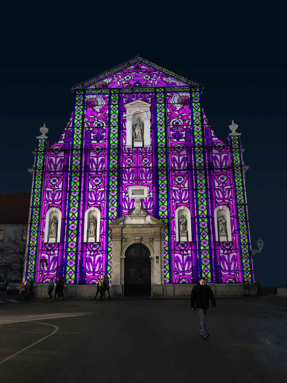 Vitraji crkve sv. Katarine / Crkva sv. Katarine