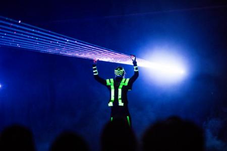 Laserski show / Ljetna pozornica Tuškanac
